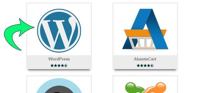 install wordpress step 2