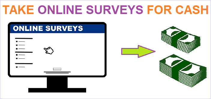 Get Paid to take Online Surveys for Cash with best Survey sites