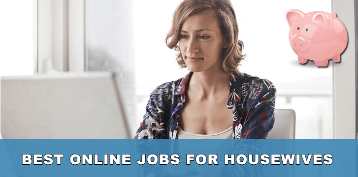 best online jobs for housewives