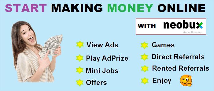 Make money with Neobux
