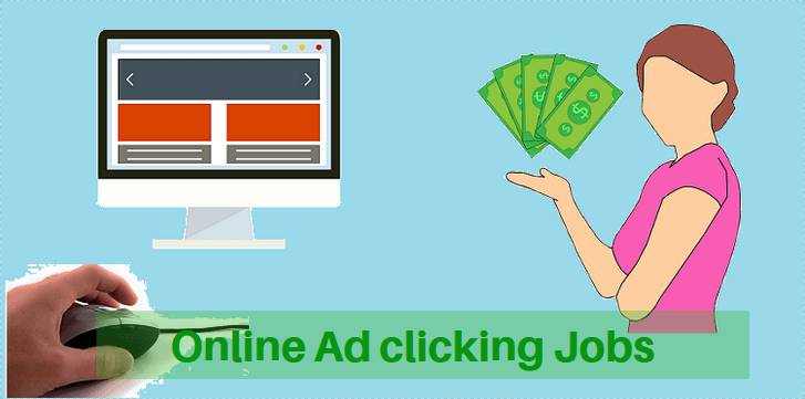 Ad clicking jobs online