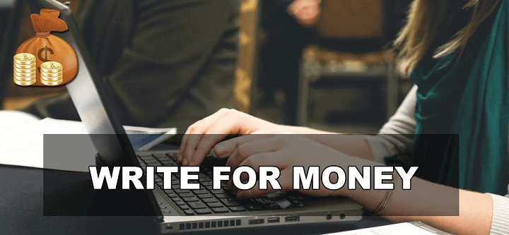 write for money
