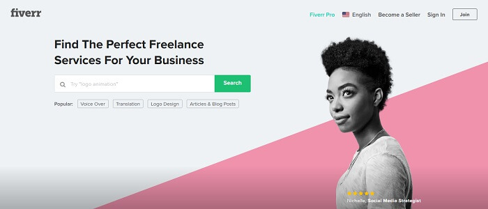 Fiverr Freelance Website