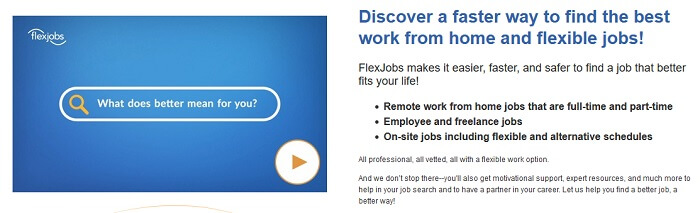 FlexJobs Freelance site
