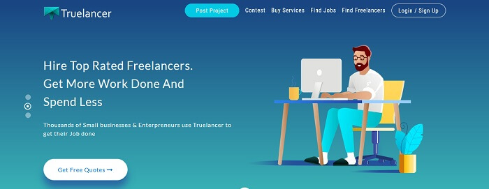 Truelancer Freelance Website